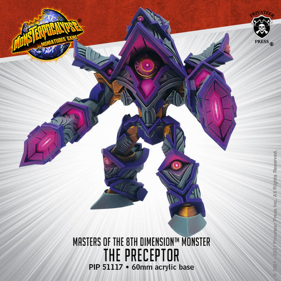Monsterpocalypse The Preceptor Masters of the 8th Dimension (Resin)