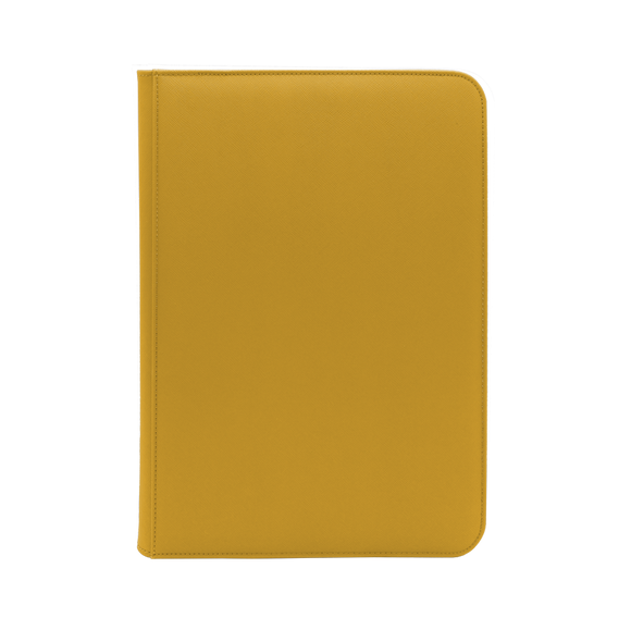Dex Zipper Binder 9 - Yellow