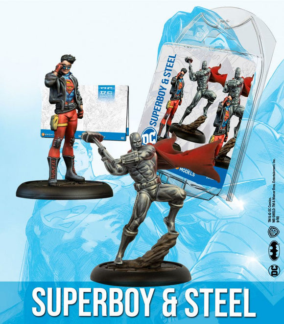 Superboy & Steel - Game State Store