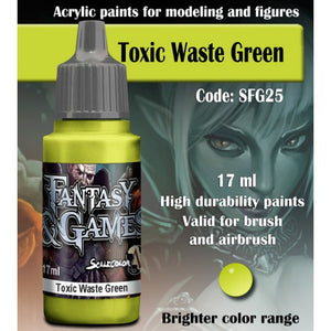 SFG TOXIC WASTE GREEN 17 mL - Game State Store
