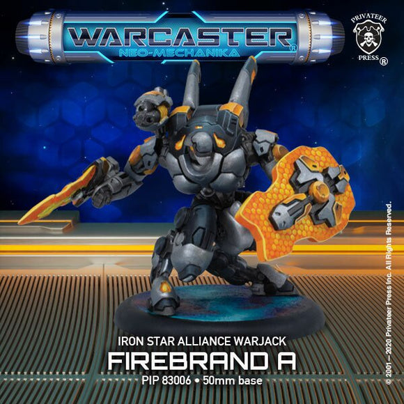 Warcaster Iron Star Alliance Firebrand A Light Warjack