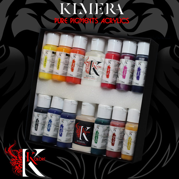 KIMERA KOLORS – PURE PIGMENTS SET - Game State Store