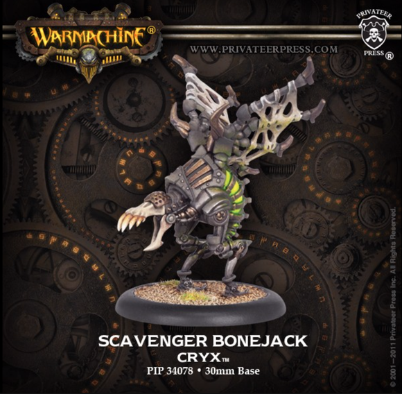 Scavenger - Cryx Light Bonejack
