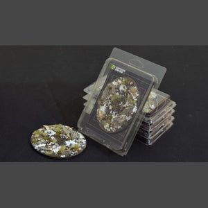 Battle Ready Bases: Winter Oval 120mm (x1) - Game State Store