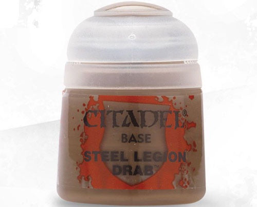 BASE: STEEL LEGION DRAB (12ML) - Game State Store