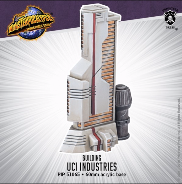 UCI Industries – Monsterpocalypse Building (resin)