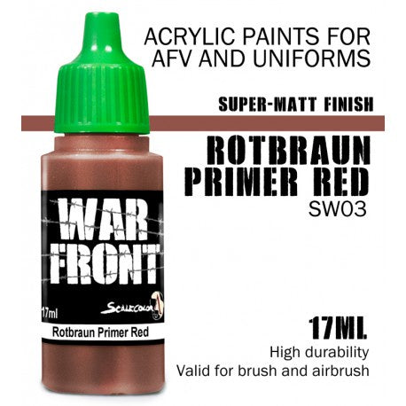SW ROTBRAUN PRIMER RED 17 mL - Game State Store