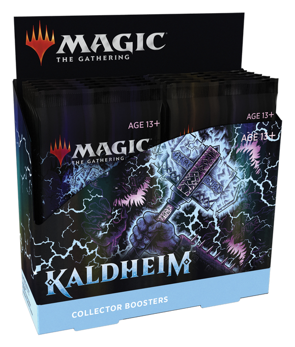 MTG Kaldheim Collector Booster Box (12 Collector Booster Packs)