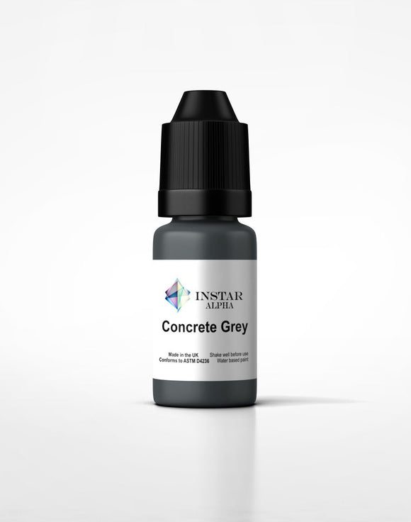 Instar Paint 20ml Alpha Concrete Grey
