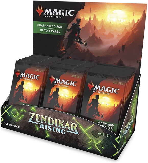 MTG Zendikar Rising Set Booster 30 Packs Per Box