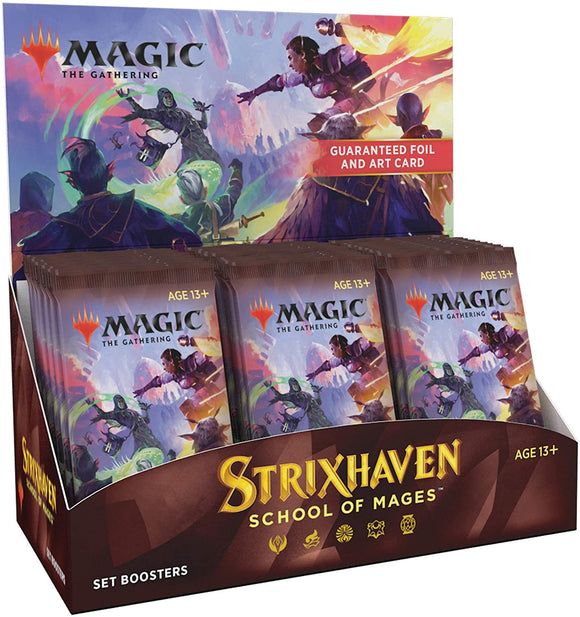 STRIXHAVEN School of Mages Set Booster Box (30 Packs) MTG
