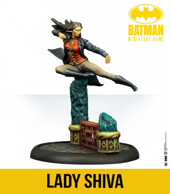 Lady Shiva - Game State Store