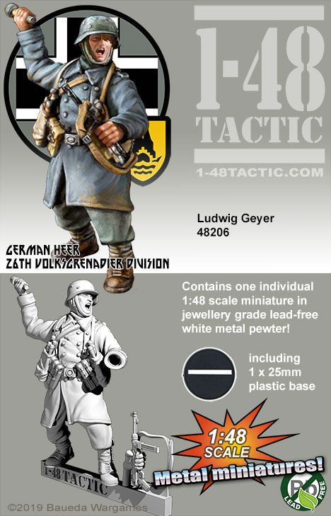 Ludwig Geyer - German 26th Volksgrenadier - Game State Store