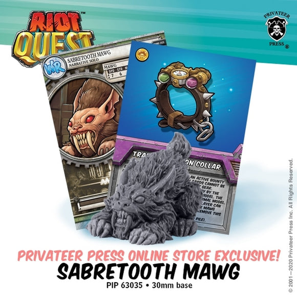 Riot Quest Sabretooth Mawg