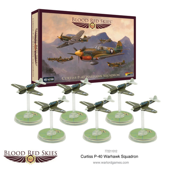 Curtiss P-40 Warhawk Squadron - Game State Store