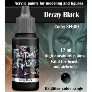 SFG DECAY BLACK 17 mL - Game State Store