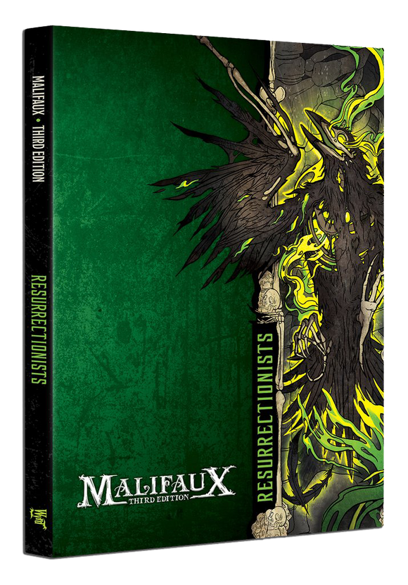 Resurrectionist Faction Book - M3e Malifaux 3rd Edition - Game State Store