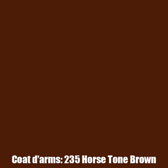 235 - Horse Tone - Brown Coat D'Arms