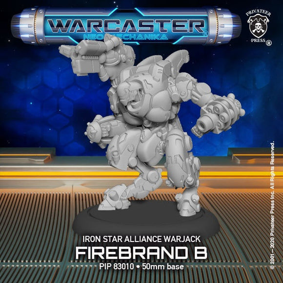 Warcaster Iron Star Alliance Firebrand B Light Warjack Variant