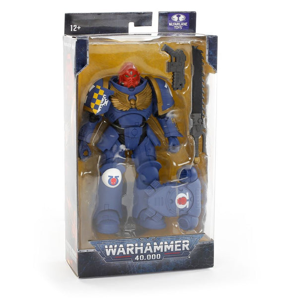 WH Special Releases McFarlane Toys Ultramarines Primaris Assault Intercessor