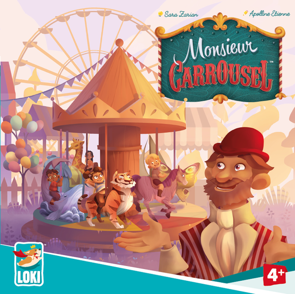 iello Monsieur Carrousel - Game State Store