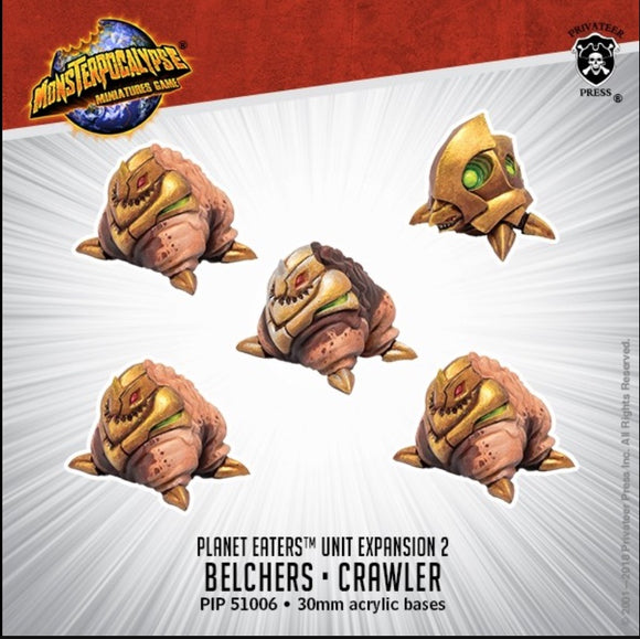 Monsterpocalypse, Belchers & Crawler: Planet Eaters Unit (resin)
