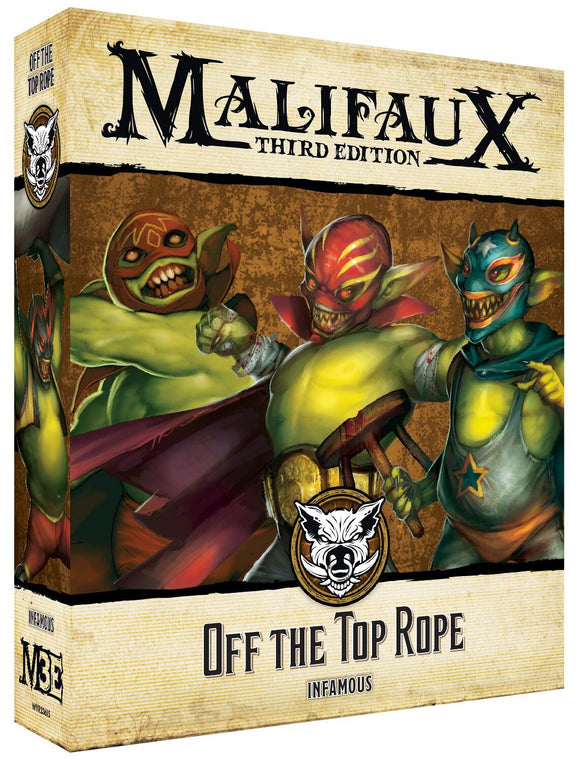 Off the Top Rope Pre-order - Arrive Jan 2020 - Game State Store