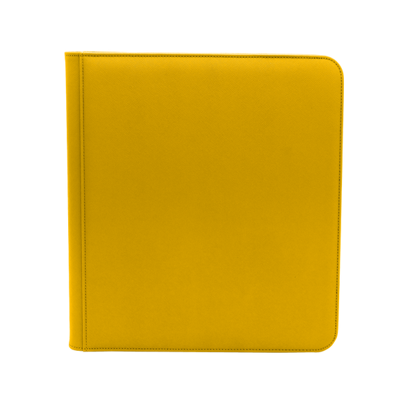 Dex Zipper Binder 12 - Yellow
