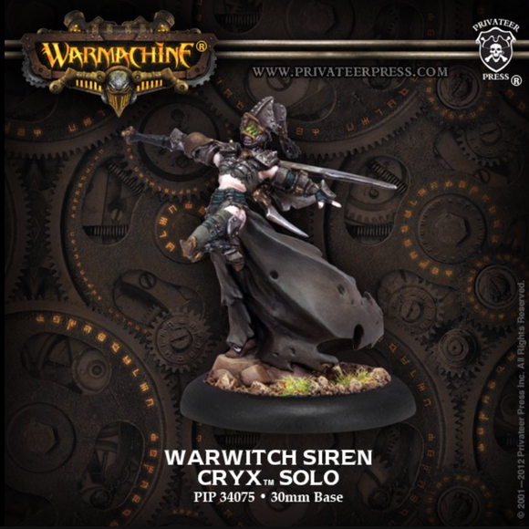 Warwitch Siren - Cryx Solo