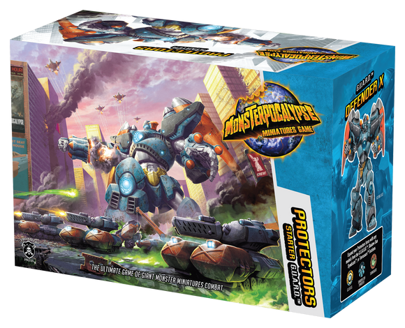 Monsterpocalypse, Protectors Starter Set (resin) - Game State Store