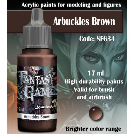 SFG ARBUCKLES BROWN 17 mL - Game State Store