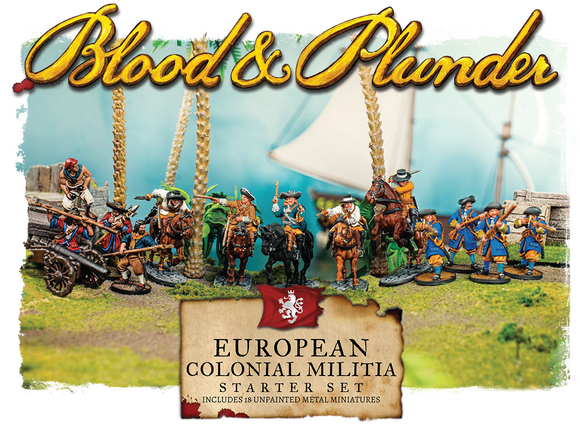 European Colonial Militia Nationality Set - Game State Store