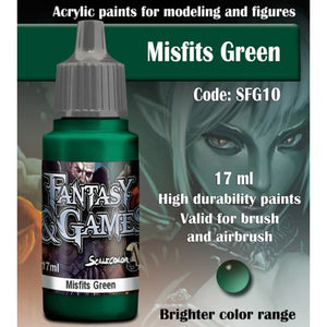 SFG MISFITS GREEN 17 mL - Game State Store
