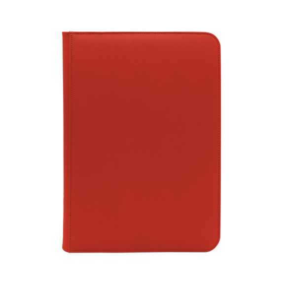 Dex Zipper Binder 9 - Red