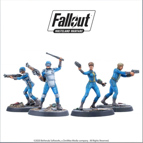 Fallout: Wasteland Warfare - Survivors: Vault Dwellers  - Game State Store
