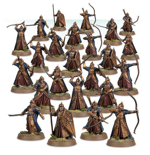 Web Order LOTR Hobbit Galadhrim Warriors