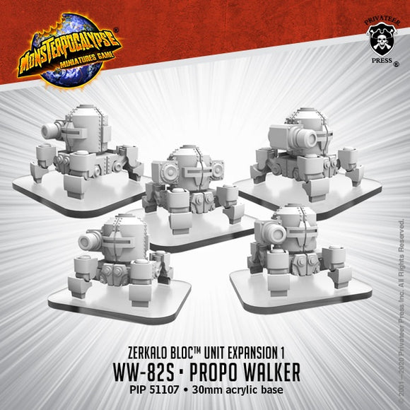 Monsterpocalypse WW82s & Propo Walker Zerkalo Bloc Unit (Resin)