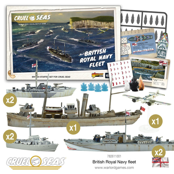 British Royal Navy Fleet - Game State Store