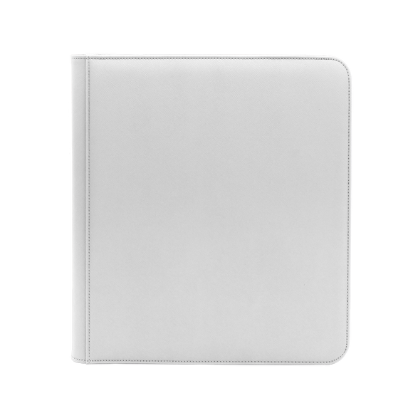 Dex Zipper Binder 12 - White