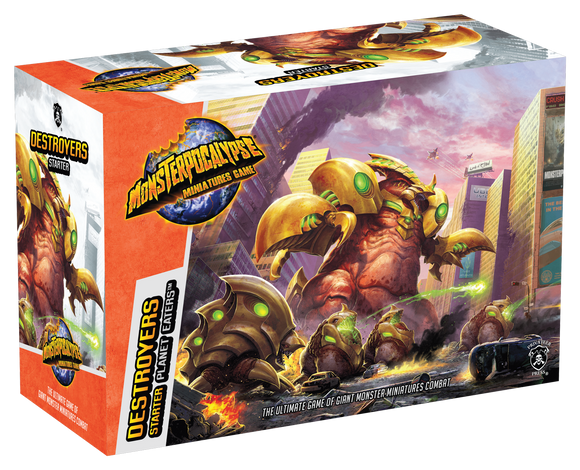 Monsterpocalypse, Destroyers Starter Set (resin)