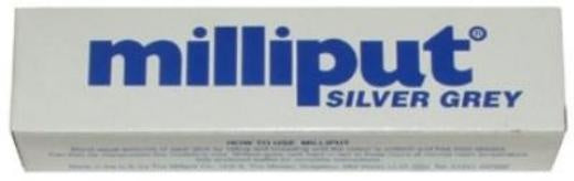 Milliput Silver Grey Epoxy Putty