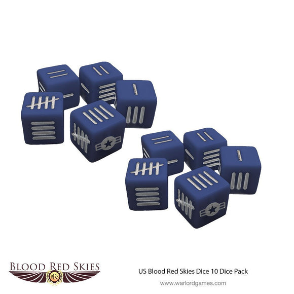US Blood Red Skies Dice - Game State Store