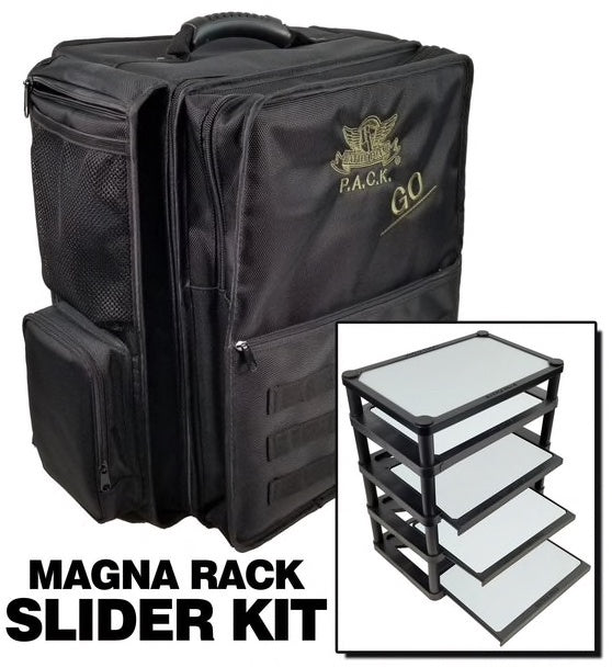 P.A.C.K. Go 2.0 with Magna Rack Slider Load Out (Black)