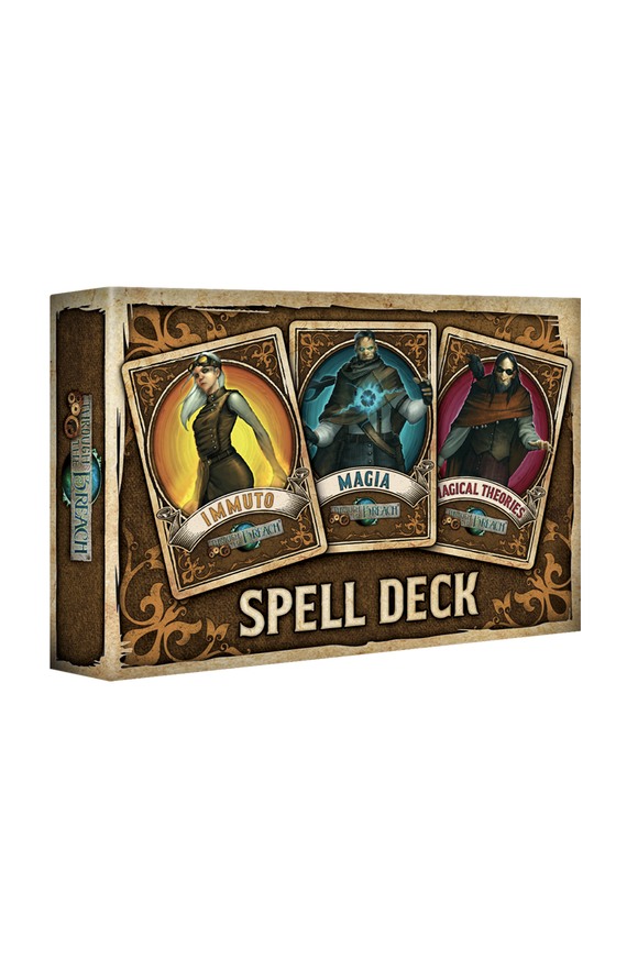 Through The Breach: Spell Deck