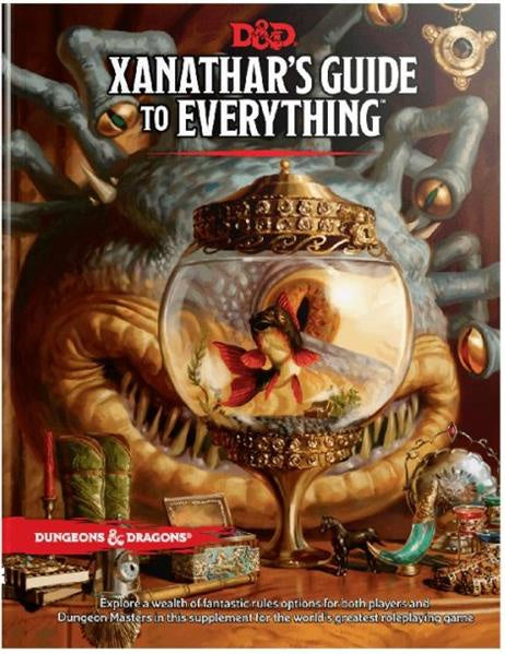 D&D Xanthar's Guide to Everything - Game State Store