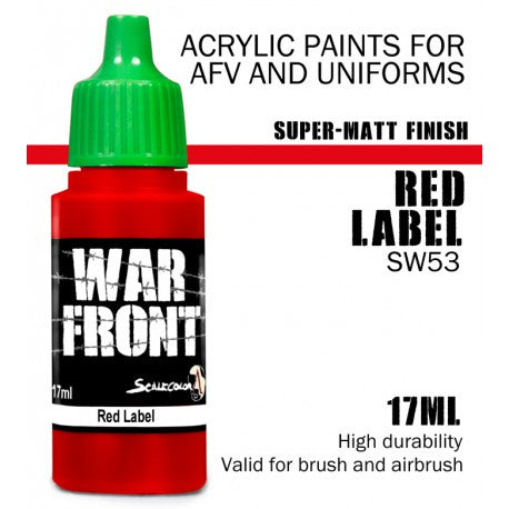 SW RED LABEL 17 mL - Game State Store