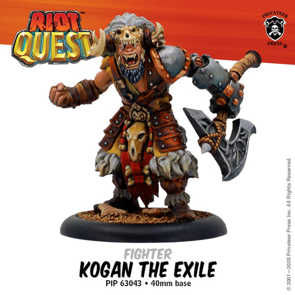 Riot Quest Kogan the Exile Figher (Resin)