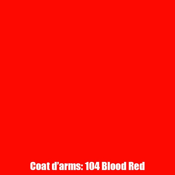 104 - Blood Red Coat D'Arms