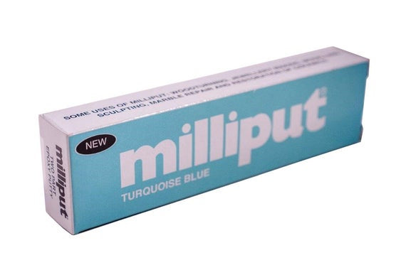 Milliput Turquoise Blue Epoxy Putty