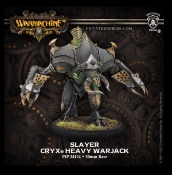 Slayer/Erebus Cryx Heavy Warjack Kit (plastic)